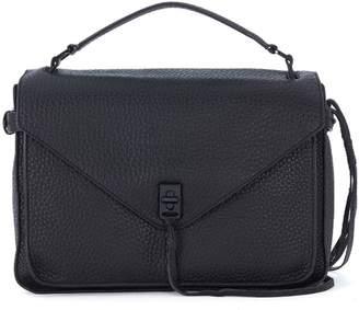Rebecca Minkoff Darren Messenger Black Leather Handbag