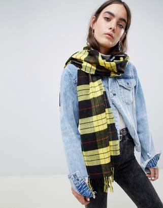 Cheap Monday check scarf