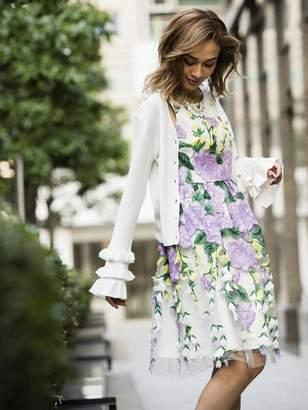 Million Carats (ミリオン カラッツ) - Million Carats springフレアカーディガン[DRESS/ドレス] ミリオンカラッツ ニット