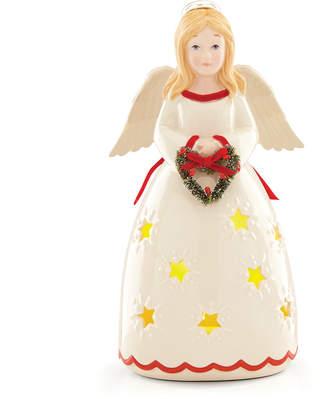 Lenox Merry & Light Lit Angel Figurine