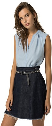 Final Sale-Sleeveless Blouse $59.50 thestylecure.com