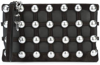 Alexander Wang caged pouch clutch bag