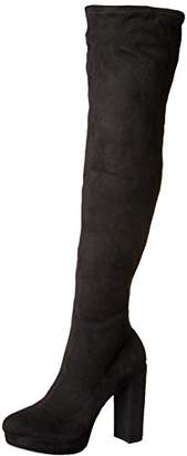 Madden-Girl Women's Groupie Over The Knee Boot