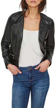 Vero Moda Bona Short Leather Jacket