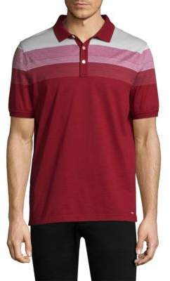 Michael Kors Jacquard Stripe Polo