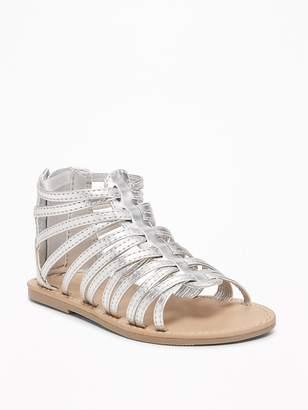 Old Navy Gladiator Sandals for Toddler Girls & Baby