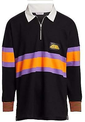 cde03e507e06 Palm Angels Men s Hiking Long Sleeve Polo Shirt