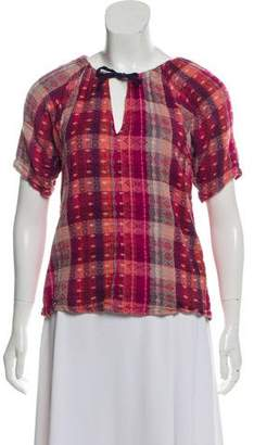 Ace&Jig Patterned Short Sleeve Top