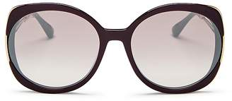 Jimmy Choo Women's Lila Oversized Round Sunglasses, 60mm