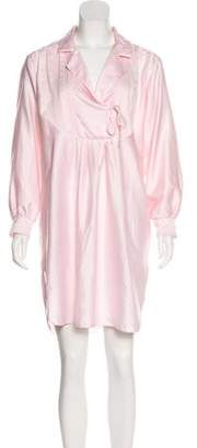 Christian Dior Long Sleeve Nightgown