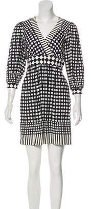 Tibi Jersey Mini Dress