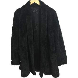 Kenneth Cole Black Faux fur Coat for Women