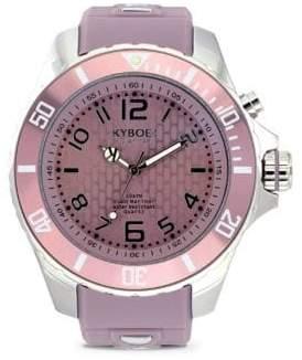 Summer Series Stainless Steel Strap Watch