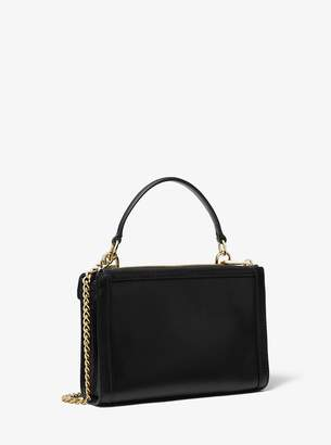 MICHAEL Michael Kors Whitney Small Leather Convertible Shoulder Bag