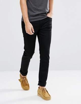 Nudie Jeans Fearless Freddie Loose Taper Jean Dry Black YD