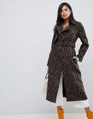 Asos Design DESIGN mac in animal print