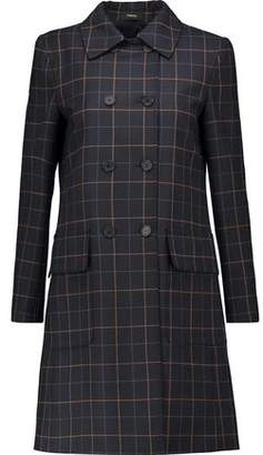 Theory Abla Checked Twill Coat