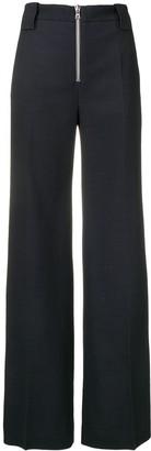 Victoria Victoria Beckham front zip trousers