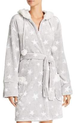 PJ Salvage Cozy Stars Plush Fuzzy Robe