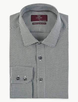 Marks and Spencer Pure Cotton Slim Fit Shirt