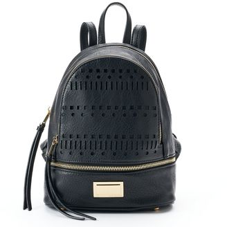 Juicy Couture Laser-Cut Dome Mini Backpack $79 thestylecure.com