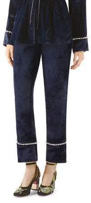 Gucci Velvet Pajama Pant