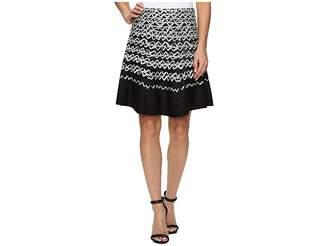 Nic+Zoe Geo Chic Twirl Skirt Women's Skirt