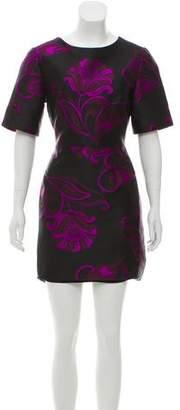 P.A.R.O.S.H. Jacquard Mini Dress