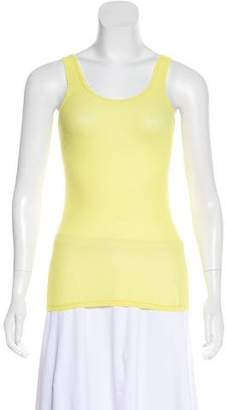 VPL Sleeveless Scoop-Neck Top