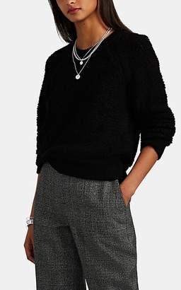 Rag & Bone Women's Bouclé-Knit Wool-Blend Sweater - Black