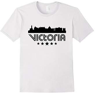 Columbia Victoria British Skyline Retro Style T-Shirt