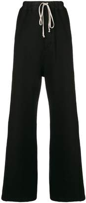 Rick Owens loose flared trousers