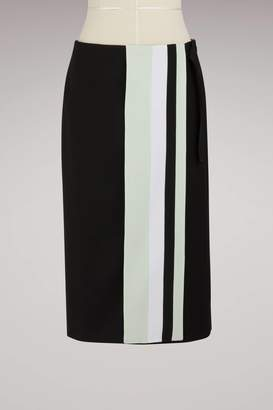 Victoria Beckham Victoria Wool and silk mid-length skirt