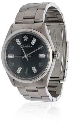 Jacquie Aiche vintage Rolex four leaf diamond watch