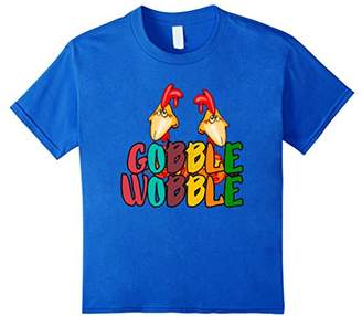 Gobble Till You Wobble Funny Turkey shirt