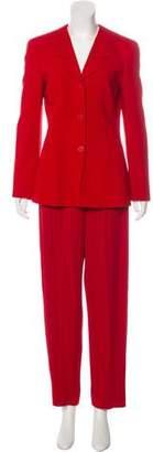 Armani Collezioni Straight-Leg Pantsuit