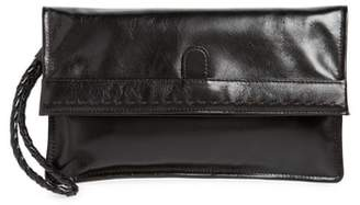 Hobo Arbor Leather Wristlet Clutch