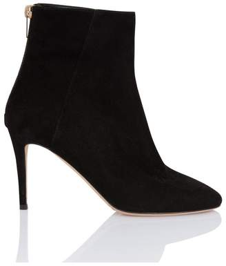 Jimmy Choo Duke Black Suede Ankle Boot