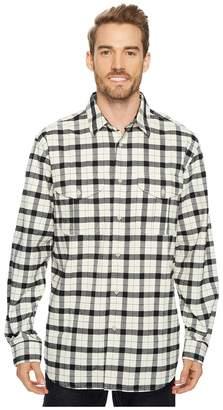Filson Extra Long Alaskan Guide Shirt Men's Long Sleeve Button Up