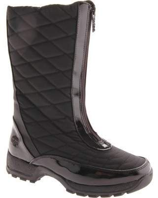 totes Diamond Women W Round Toe Synthetic Mid Calf Boot