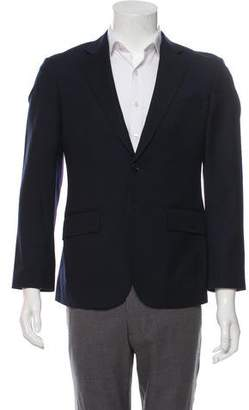 Hardy Amies Wool Two-Button Blazer