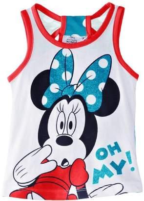 Disney Girls Minnie Mouse EN1096 Sleeveless T-Shirt