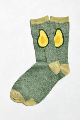 Urban Outfitters Avocado Halves Sock