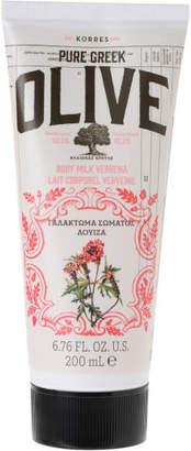 Natural Pure Greek Olive and Verbena Body Cream 200ml
