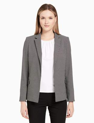Calvin Klein printed open jacket