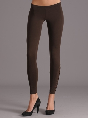 David Lerner Butterfly Mesh Bottom legging