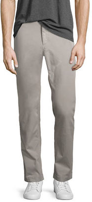 Theory Brewer Soft Sateen Modern Chino Pants $225 thestylecure.com