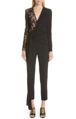 Givenchy Lace Panel Jumpsuit