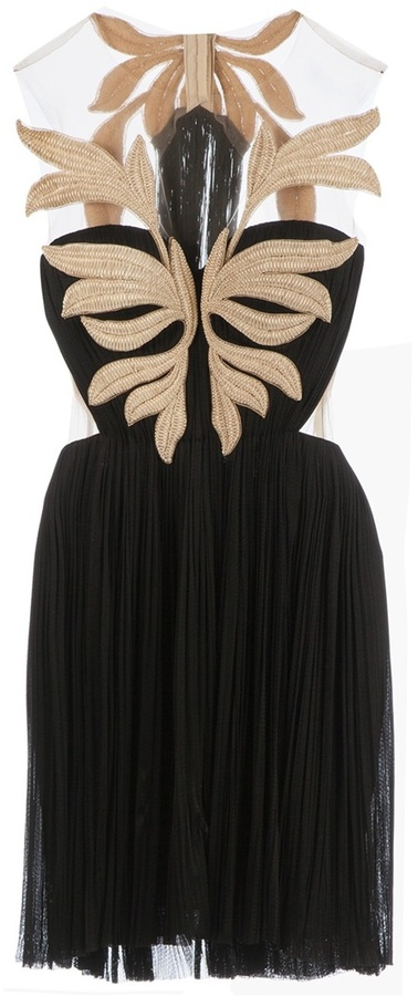 Maria Lucia Hohan 'Fatima' minidress