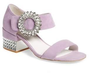 Jeffrey Campbell Kaylene Crystal Embellished Sandal